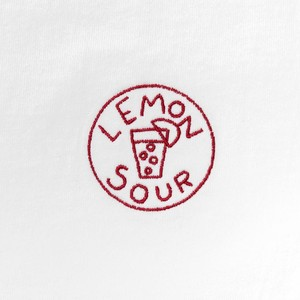 TACOMA FUJI RECORDS LEMON SOUR designed by Tomoo Gokita WHITE