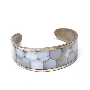 Vintage Mexican Pearl Work Bangle