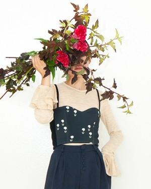 お花のビスチェ