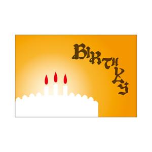 アンビグラム/おめでとう=Birthday ASOBIDEA CARD 0029