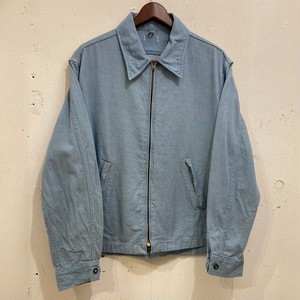 60's Sax Blue Denim Work Jacket