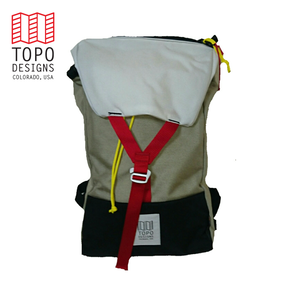 "TOPO DESIGNS ""Y-PACK"" CAVE/WHITE"