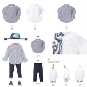 予約注文) バニラシャツ  90〜130
