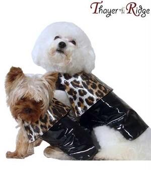 犬服(ドッグウェア) Thayer & Ridge タイヤー&リッヂ Tate Raincoat レインコート