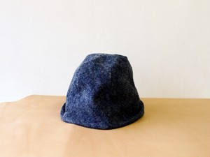 HELMA HAT | FLANNEL DENIM 【M:56~59cm】
