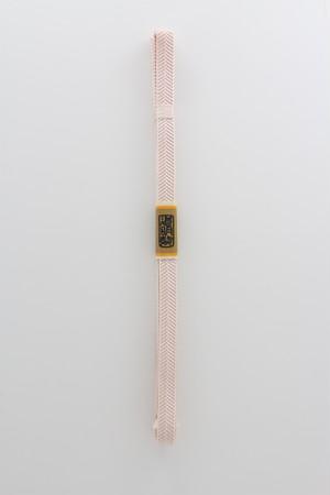 笹浪組 帯留用 三分紐(一斤染)