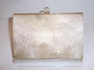 佐賀錦かかえバック Saganishiki fabric vintage bag (made in Japan)(No7)