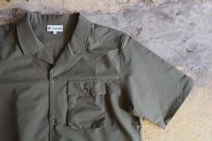 rajabrooke SELESA S/S SHIRT(Khaki plain)