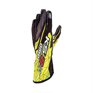 KK02748178 KS-2 ART GLOVES Black/fluo yellow