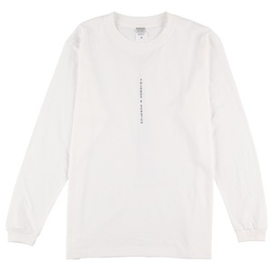 I woke Up L/S T-shirt【白】