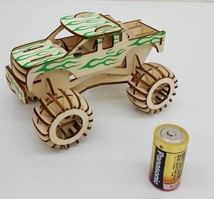 【送料無料】3D立体パズル 4WD モンスタージープ