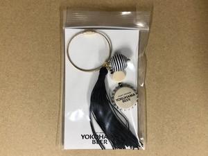 YOKOHAMA BEER ハンドメイド王冠バッグチャーム