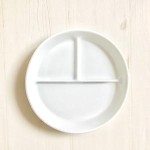 白磁 ランチプレート キッズサイズ
