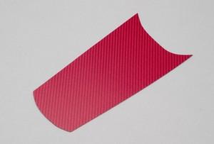HONDA GROM(JC61) リアインナーカーボン 赤