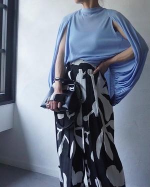 YOHEI OHNO / balloon sheer top