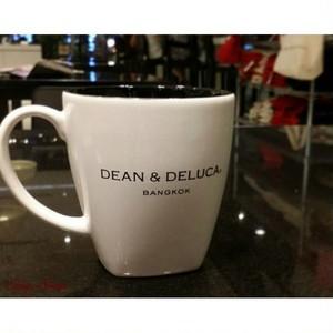 DEAN & DELUCA/ディーンアンドデルーカ スクエア マグカップ×2個 【バンコク限定】
