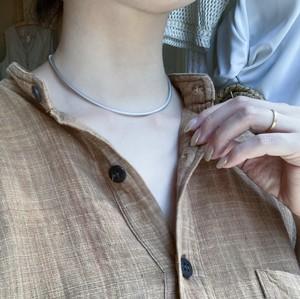 Silver necklaceC