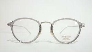 H-fusion HF-122 50 CLEAR GRAY SILVER