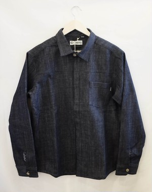 Evisen Skateboards TPO DENIM SHIRTS デニムシャツ M エビセン