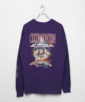 Cult Mountain Longsleeve T-shirt [Purple]