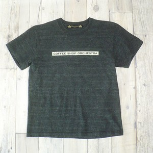 """【Alpha Betti Cafe×HAMATOLA!】collab Line""""Coffee Shop Orchestra"""" T-Shirts (heather Charcoal)"""