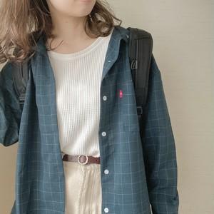 check shirts [A-7] ※受注販売4月中旬〜下旬順次配送予定