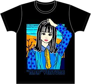 """Add""Venture Tour2020 Restart Tシャツ【峰島こまき】"