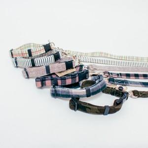 【小型犬用】シンプルライン(Sサイズ首輪&リードSET)送料無料
