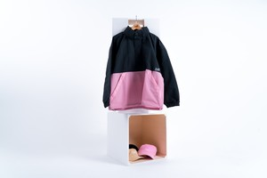 BLAZZ Anorak / Made in JAPAN -BLACK x PINK-