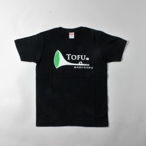TOFUラッパTシャツblack