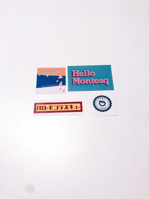 【ハローモンテスキュー】Sticker Set 2020 AW
