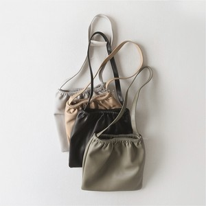 5color : Eco Leather Gathers Sacoche 93090  エコレザー サコッシュ