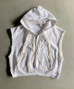 Midorikawa HALF ZIP SWEAT PARKA