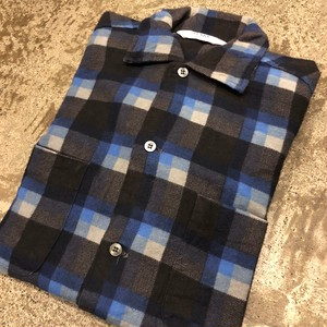 """NOS 60's """"SEARS"""" Print Flannel Shirts"""