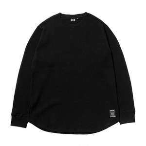 FOURTHIRTY 430 L/S LONG THERMAL C/S BLK サイズ1 (S)