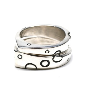 Lisa Jenks Sterling Silver Layer Ring