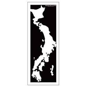 立川こしらオリジナル手ぬぐい「集いMAP」柄 ※送料無料