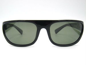 "Shady Spex ""White Light"" sunglasses, Shiny Black w/Polarized G15 lenses"