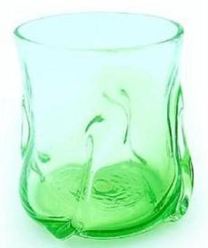 琉球 流氷グラス グリーン