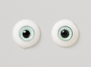 Silicone eye - 11mm Antique Green PW
