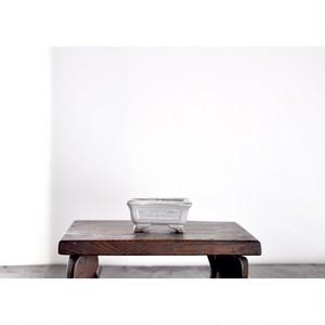 【豆植木鉢-脚付-】豆鉢 盆栽 botanical ボタニカル vintage
