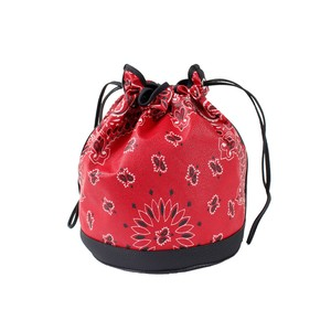CHILDREN OF THE DISCORDANCE Paisley Bag Red