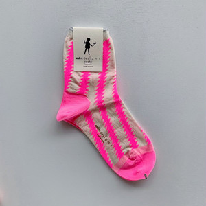【mintdesigns】ZIG-ZAG SOCKS / 37204-SO1LW01