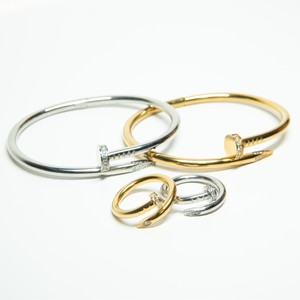 【Zircon Nail】 Ring & Bangle セット