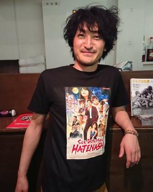 『新橋探偵物語』Tシャツ(A)黒