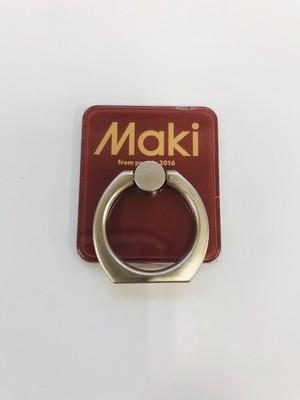 【Maki】スマホリング