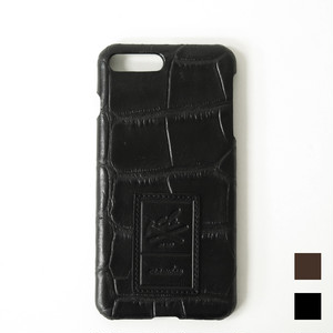 【iPhone7Plus用】本革iPhoneケース クロコ Croco Embossing Leather iPhone case