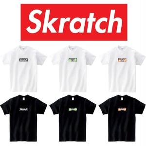 【予約商品】Skratch Turntable Set BOX LOGO TEE スクラッチ ボックスロゴTシャツ