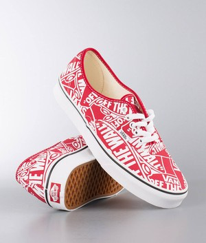 【VANS】 OTW Repeat Authentic ヴァンズ オーセンティック Red/True White VN0A38EMUKL
