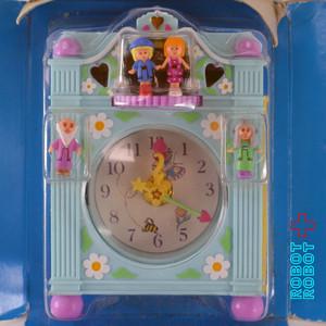 ポーリーポケットのファンタイム置時計プレイセット未使用品